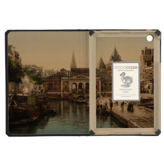Old Fishmarket and Bourse Amsterdam Netherlands iPad Mini Covers