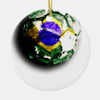 Old football (Brazil) Christmas Ornament