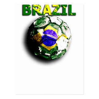Old football Brazil Postcards