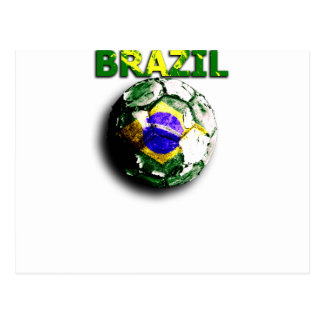 Old football Brazil Post Cards