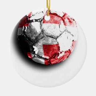 Old football (Denmark) Christmas Ornament