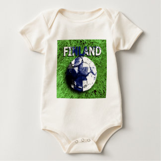 Old football (Finland) Baby Bodysuit