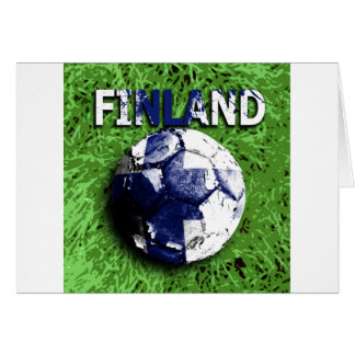 Old football (Finland) Card