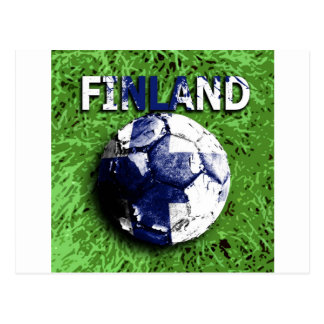 Old football Finland Postcards