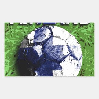 Old football (Finland) Rectangular Sticker
