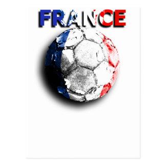 Old football France Post Card