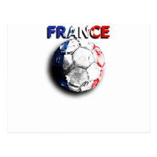 Old football France Postcards