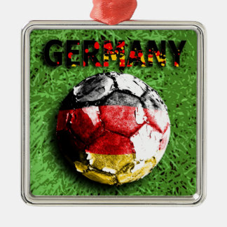 Old football (germany) christmas ornament