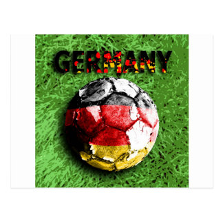 Old football germany postcards