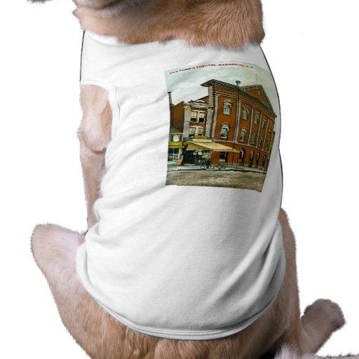 Old Ford's Theatre, Washington D.C. Pet Tshirt