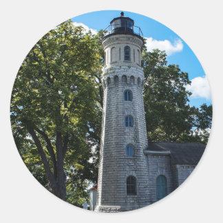 Old Fort Niagara Lighthouse Round Sticker