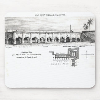Old Fort William, Calcutta Mouse Pad
