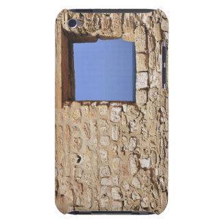 Old fortified wall Wall with window framing blue iPod Touch Cases