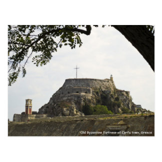 Old Fortress in Corfu Postcard