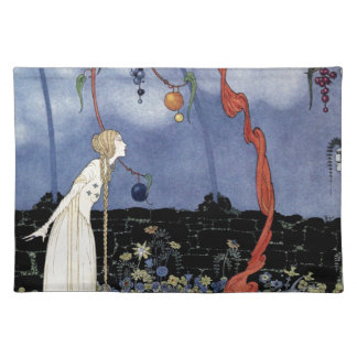 Old French Fairy Tales: A Tree of Marvelous Beauty Placemat