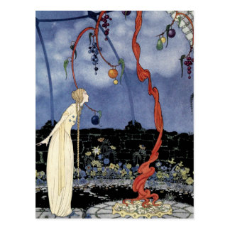 Old French Fairy Tales: A Tree of Marvelous Beauty Postcard