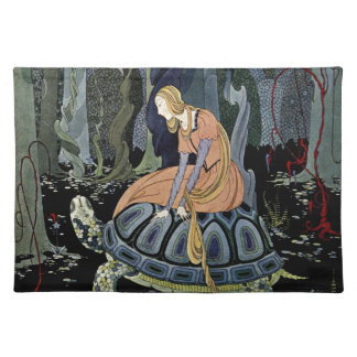 Old French Fairy Tales: Through the Forest Placemat