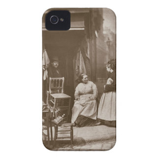 Old Furniture, from 'Street Life in London', 1877- iPhone 4 Case-Mate Case