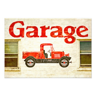 Old Garage Photo