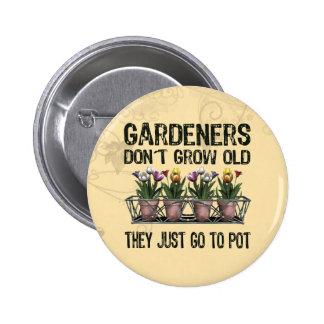 Old Gardeners 6 Cm Round Badge