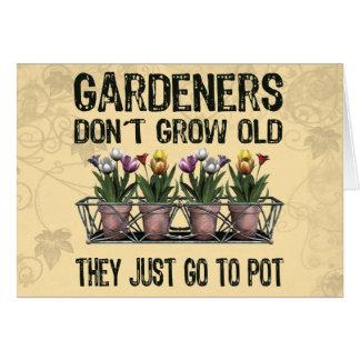 Old Gardeners Card