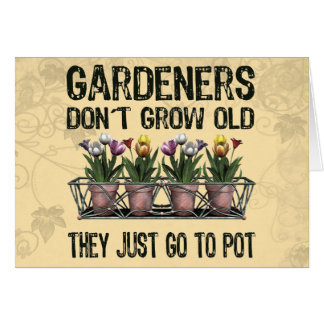 Old Gardeners Cards