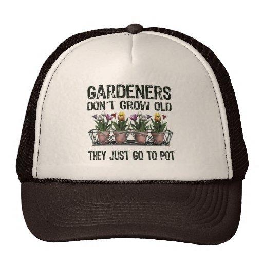 Old Gardeners Trucker Hats