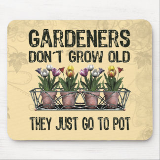Old Gardeners Mouse Pad
