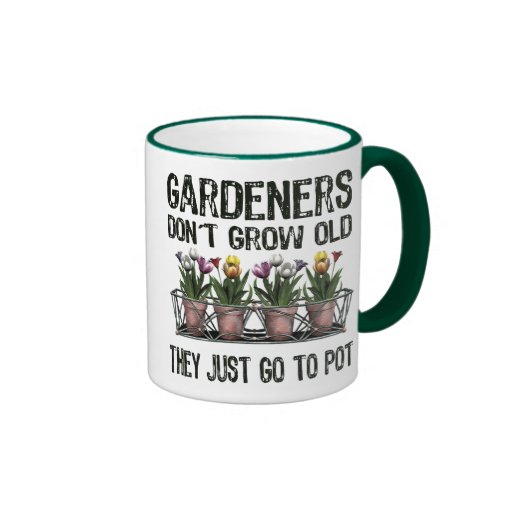 Old Gardeners Coffee Mugs