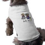 Old Gay Couple Sleeveless Dog Shirt