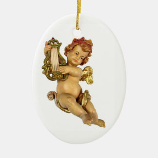 Old German Cherub Christmas Ornament