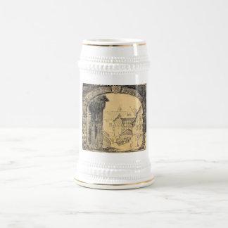 Old Germany Beer Steins