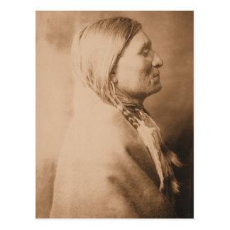 Old Geronimo Catcher Postcard