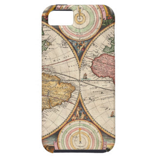 Old global map iPhone 5 covers