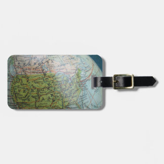 Old Globe luggage tag