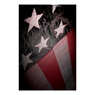 Old Glory 36 x 24 Poster