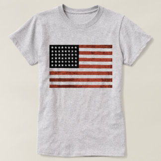 Old Glory American Flag Tee
