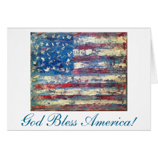 """Old Glory"" by Chris Rice Note Cards"