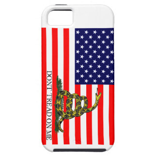 Old Glory / Gadsden Flag Combo iPhone 5 Covers