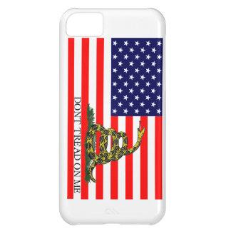 Old Glory / Gadsden Flag Combo iPhone 5C Case