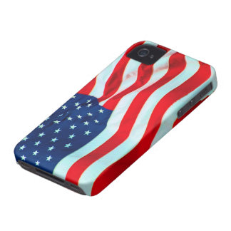 Old Glory In The Breeze Case-Mate iPhone 4 Case