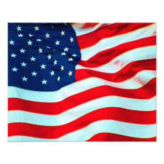 Old Glory In The Breeze Photo Art