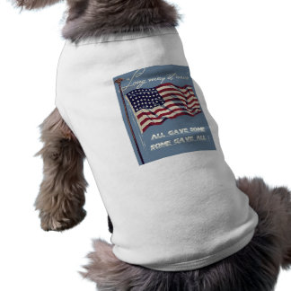 Old Glory, Long May It Wave Doggie Shirt
