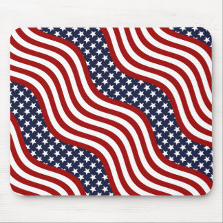 OLD GLORY! (patriotic flag design) ~ Mouse Pad