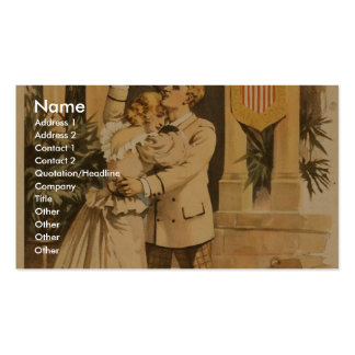 Old Glory Retro Theater Pack Of Standard Business Cards