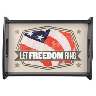 Old Glory Serving Tray