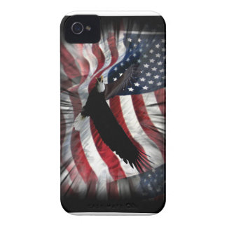 Old Glory with Eagle Case-Mate iPhone 4 Case