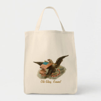 Old Glory's Eagle Canvas Bags