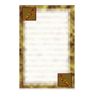 Old Gold Dragon Stationery
