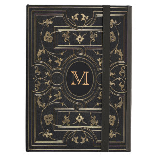 Old Gold Monogram iPad Air Covers